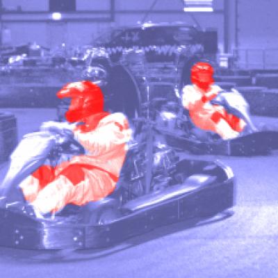 As a gokart racer